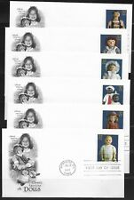 US Scott #3151A-O, First Day Covers 7/23/97 Anaheim Singles Dolls