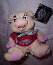 "Motorcycles Harley-Davidson Bean Bag Hog 6"" Plush Soft Toy Stuffed Animal"