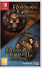 Baldur's Gate Enhanced Edition Nintendo Switch Game