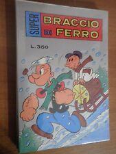 SUPER BRACCIO DI FERRO n° 48 (Metro, 1977)  stato Ottimo di Busta   L