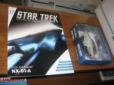 Eaglemoss Diecast Star Trek ST0017 USS Dauntless MAGAZINE #17 Voyager series