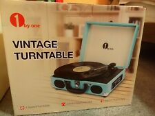 New listing 1byone Vintage Turntable