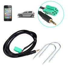 Aux Input Adapter Cable For Renault Clio Megane Scenic MP3 iPod Stereo Radio UK