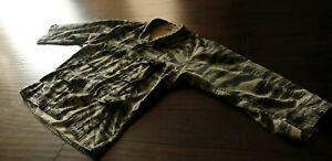 Vintage Vietnam type Tiger Stripe Jungle Camo Shirt Jacket XL Regular