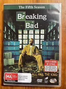 Breaking Bad - Season 5 DVD (R4, 2013, 3 Disc Set)