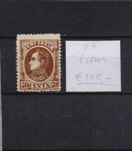 ! Venezuela 1880. Stamp. YT#27. €125.00!