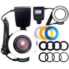 Macro 48 LED Ring Flash Light RF550D for Nikon Canon Olympus DSLR Camera