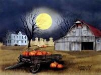 Billy Jacobs Harvest Moon Farm Country Print