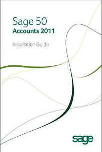 Sage 50 Accounts 2011 Software - Windows App with License Key
