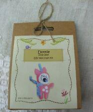 Dottie little deer, DIY felt craft kit