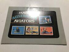 1978 Australia Famous Australian Aviators in Folder Pack Confezione Filatelica