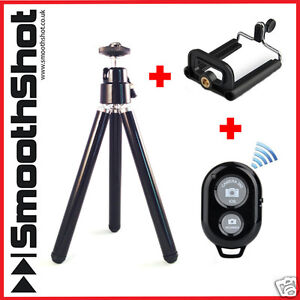 CAMERA TRIPOD HANDLE STAND HOLDER MOUNT BLUETOOTH REMOTE IPHONE SAMSUNG S9 10 11