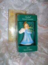 1979 GOEBEL ANNUAL ORNAMENT 2ND EDITION CHRISTMAS ANGEL