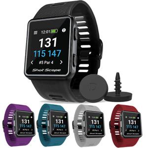 Shot Scope V3 Golf GPS Smart Watch Performance Tracker 35000 Courses Shotscope