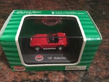 1/87 Scale Ford Shelby Cobra Red Diecast
