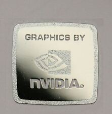 """Graphics by Nvidia"" Metal Chrome Sticker 