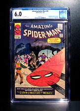 COMICS: Marvel: Amazing Spiderman #22 (1965), 1st Princess Python app - CGC 6.0