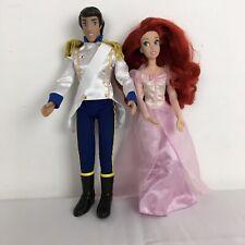 Disney Princesa Ariel Y Príncipe Eric Muñecas De La Sirenita