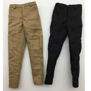 1:6 Scale Male Action Figure Body Clothes Casual Pants Trousers Accessories