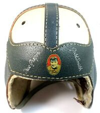 1950's MacGregor Goldsmith Frank Leahy Notre Dame Leather Helmet NM Football