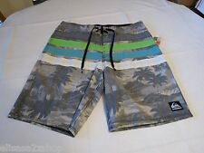 Jayolio 32 Quiksilver palm trees Men's board shorts swim trunks surf skate NEW