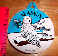 Great Snowy Owl Alaska peel and stick Decal