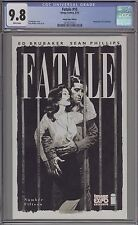 FATALE #15 - 2013 IMAGE EXPO BLACK AND WHITE VARIANT - CGC 9.8 - 0216277012