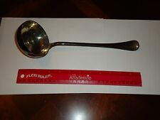 "Vintage Large Silverplate Punch Bowl Ladle 12"" SIGNED RICCI ARGENTIERI  Italy"