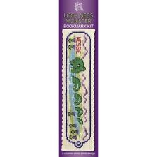Loch Ness Monster Bookmark Counted Cross Stitch Kit Textile Heritage