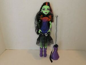 Casta Fierce Monster High Doll with Broom