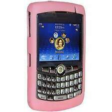 AMZER Silicone Soft Skin Jelly Case Cover For BlackBerry Curve 8300 - Baby Pink