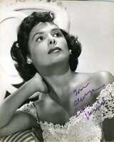 LENA HORNE Hand Signed JSA COA Vintage 40`s 8X10 Photo Autographed Authentic