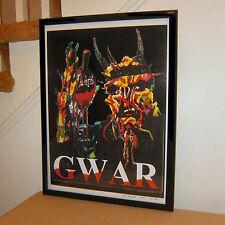 Oderus Urungus Gwar Vocals Thrash Metal Rock Music Poster Print Wall Art 18x24