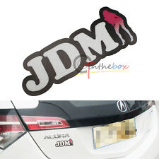 (1) JDM Japanese Style Drift JDM SEX GIRL Badge Sticker Decal Car SUV Truck