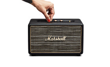 Marshall ACTON Bluetooth  Portable Wireless Stereo Speaker Black Brand New