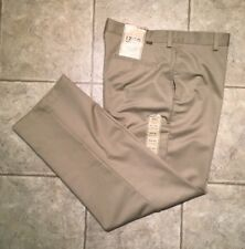 IZOD * Mens Khaki Casual Pants * Size 34(36) x 32 * NEW WITH TAGS