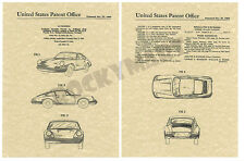 1964 Porche - Germany - ART PATENT PRINT - Produced from Original USA Patent
