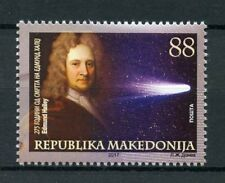 Macedonia 2017 MNH Edmund Halley Halley's Comet 1v Set Astronomy Space Stamps