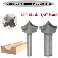 Router Rille Spitze CNC Gravur 1/2 1/4 Schaft Für die Holzbearbeitung Neu DE