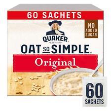 Quaker Oats So Simple Original Porridge 60 x 27g Sachets Microwaveable