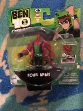 BEN 10 OMNIVERSE - Four Arms - Omnitrix Mini Figure - Cartoon Network BANDAI