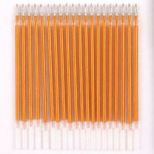 10pcs Gold Color ink Pen Refills 0.4MM Art Painting Marking Writing Pens Refill