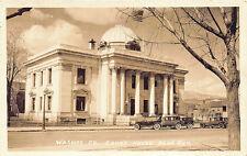Reno NV Washoe County Court House RPPC Real Photo Postcard