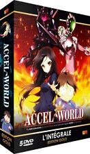 ★Accel World ★ Intégrale - Edition Gold - Coffret 5 DVD