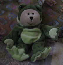 Starbucks Barista Bear - 2005 39th Edition Conservation Frog - New with Tags