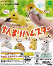 Chinmari Hamster Capsule Collection 6pcs Complete set Gashapon EPOCH Japan