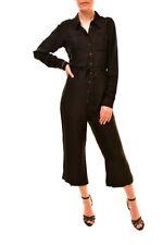 One Teaspoon Women's Comfort Jumpsuit Black Size S RRP $158 BCF84