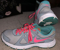 Girls Nike Shoes Size 5.5- Nike Revolution Sneakers- Great Condition!