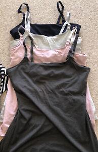Breastfeeding Vest Top Bundle Of 4 - H&m Size Medium