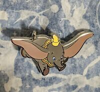 Disney Ink and Paint Mystery Series 2 Dumbo Pin - Holding feather - NEW